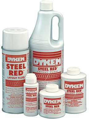 Dykem Steel Red Layout Fluid